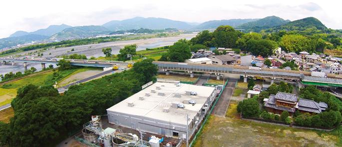 静岡工場の全景